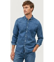 jeansskjorta long sleeve pacific shirt