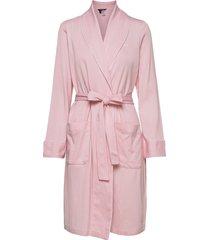 lrl short shawl collar robe morgonrock rosa lauren ralph lauren homewear