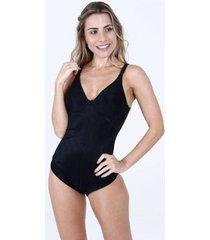 body feminino modelador delrio