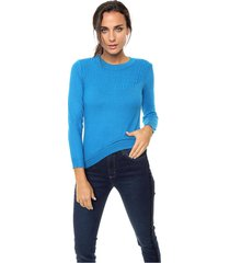 sweater azul nano agatha
