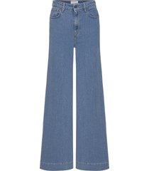 bellis blue wide vida jeans blå designers, remix