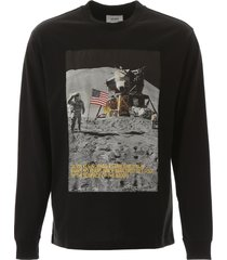 calvin klein long-sleeved moon landing t-shirt