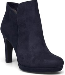 woms boots - lycoris shoes boots ankle boots ankle boot - heel blå tamaris