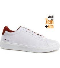 sapatenis fly alth 58059-01-branco-vermelho-44