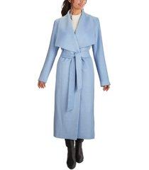 cole haan petite belted wrap coat