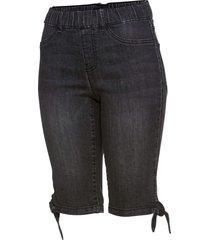 bermuda in jeans (nero) - bpc selection