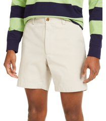 "club room men's regular-fit 7"" 4-way stretch shorts, created for macy's"