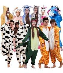 adult unisex jumpsuit kigurumi animal pajamas cosplay costume sleepwear hot sale