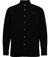 boxy shirt overhemd casual zwart han kjøbenhavn