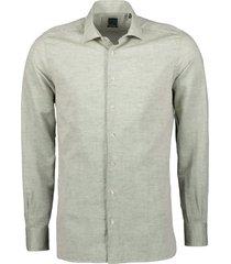 nils overhemd - extra lang - groen