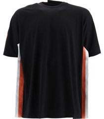 y/project t-shirt with two-tone bands