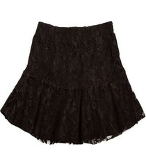 falda magica negro mapamondo