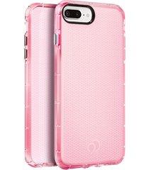 estuche protector nimbus9 phantom2 iphone 7 plus / 8 plus - rosado