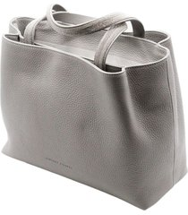 fabiana filippi inga handbag with double handles with monili and zip closure and double compartments with shoulder strap measuring 30 x 21 x 11 cm