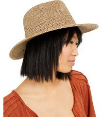 nine west braid panama hat