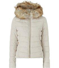 jacka onlnew ellan quilted fur hood jacket