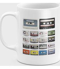 kubek audio cassettes