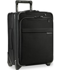 "briggs & riley baseline 19"" 2-wheel softside commuter carry-on"