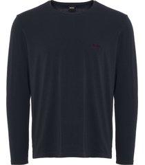 boss by hugo boss mix & match long sleeve t-shirt - dark blue 50379006