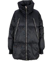 mm6 maison margiela mm6 midi puffer jacket