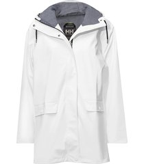w dunloe jacket parka lange jas jas wit helly hansen