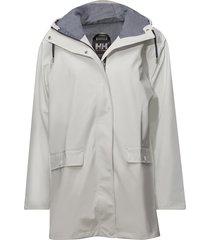 w dunloe jacket parka lange jas wit helly hansen