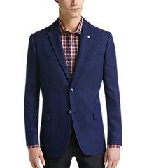 ben sherman blue tic extreme slim fit sport coats