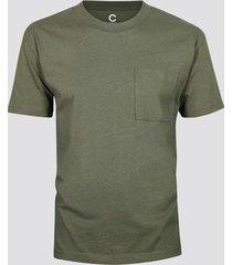 t-shirt i bomull - ljusbrun