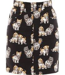 msgm kittens mini skirt