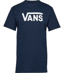 vans classic t-shirts short-sleeved blå vans
