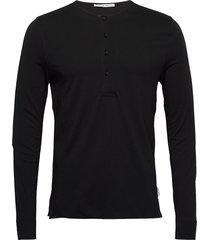 cappe t-shirts long-sleeved zwart tiger of sweden