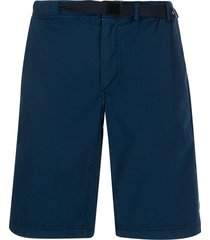ps paul smith belted bermuda shorts - blue