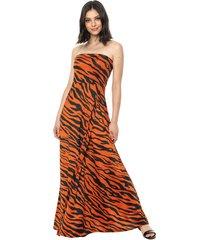 vestido naranja mochi cecile