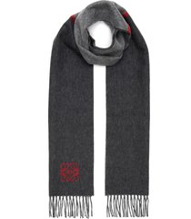 'window' fringe edge scarf