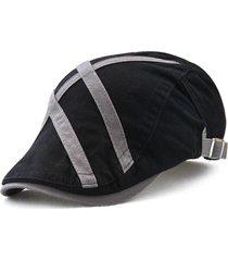 unisex casual berretto in 100% cotone respirabile caldo regolabile antivento 15a621a81ae1
