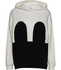 mickey hoodie hoodie trui wit r/h studio
