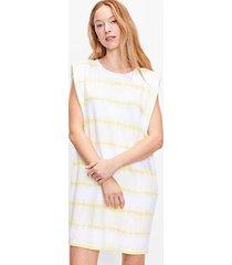 loft tie dye striped muscle tee dress
