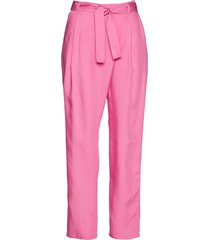 pantaloni con pinces in tencel lyocell (fucsia) - bpc selection premium