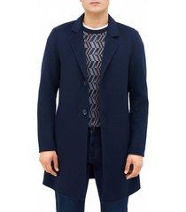 abrigo liso lana navy perry ellis