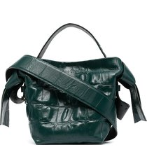 acne studios twisted knot tote bag - green