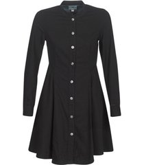 korte jurk g-star raw bristum slim flare fringe dress ls
