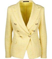 alicya tweed blazer