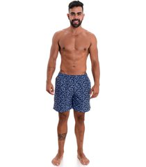 shorts areia branca resort sea icon azul