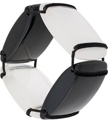 a.n.g.e.l.o. vintage cult 2000s bead bracelet - black