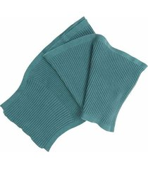 bufanda tejida en diseño unicolor en algodón para hombre 00769