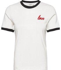 tee makenzie makenzie t-shirts & tops short-sleeved vit björn borg