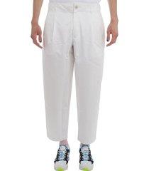 comme des garçons shirt comme des garcons shirt white trousers