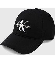 gorra negro-blanco calvin klein