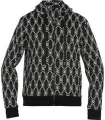 neil barrett monogram sweatshirt
