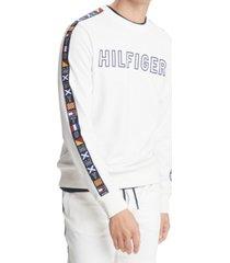 tommy hilfiger men's sail x cruise flag logo sweatshirt
